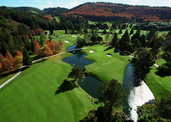 Golf Course New Zealand