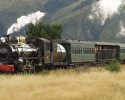 Luxury New Zealand Tours - Steam train travel New Zealand