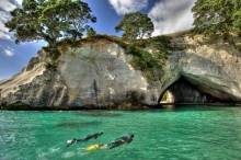 Cathedral Cove Snorkelling