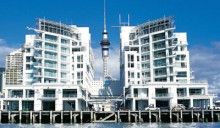 Hilton Hotel, waterfront accommodation Auckland